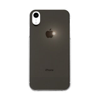 スーパームーン Clear smartphone cases