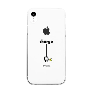 charge Clear smartphone cases