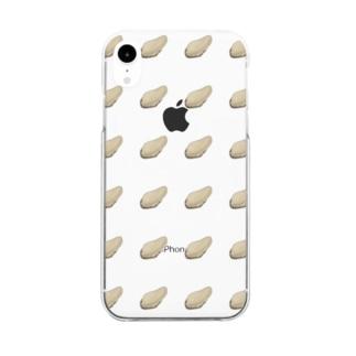 オイスター Clear smartphone cases