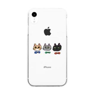兄弟猫 Clear smartphone cases