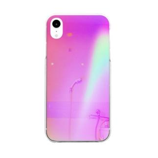 緑桃 Clear smartphone cases