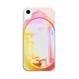ミラクルマジックミラー M.M.M Clear smartphone cases