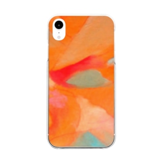 Goldfish2 Clear smartphone cases