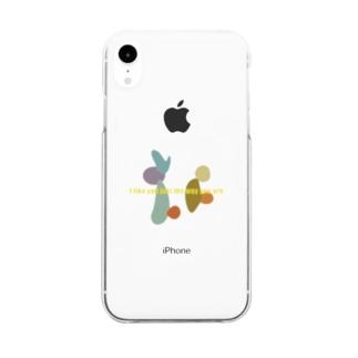 うさぎとかめ Clear smartphone cases