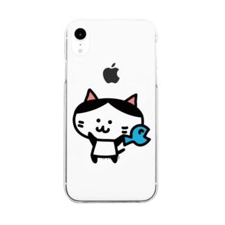 マロ(わーい) Clear smartphone cases