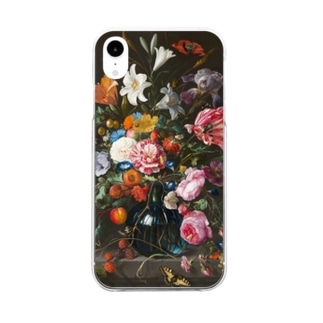 Vase of Flowers Clear smartphone cases