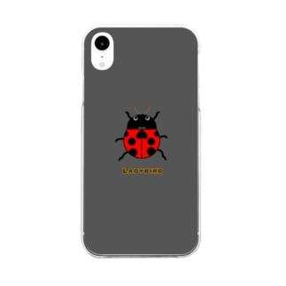 てんとう虫スマホケース Clear Smartphone Case