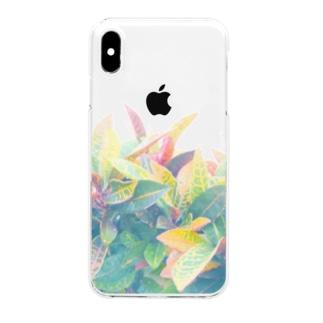 南国の葉っぱ 3🌿 Clear smartphone cases