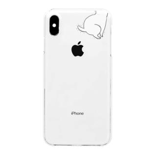 hunbaru白猫 Clear smartphone cases