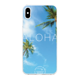 PALMTREE Clear smartphone cases