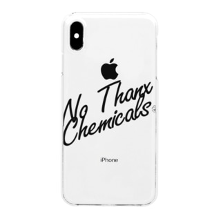 No Thanx Chemicals Clear smartphone cases