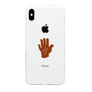 手 Clear smartphone cases