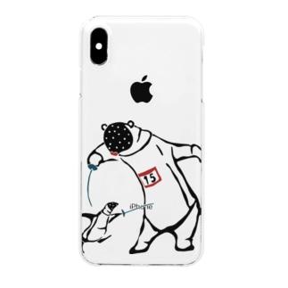 フェンシング Fencing Clear smartphone cases