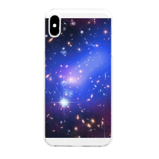 2step_by_Jrの宇宙の藻屑 Clear smartphone cases