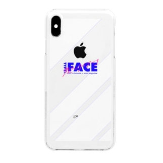 TYPE:)FACE -顔がタイプです- Clear smartphone cases
