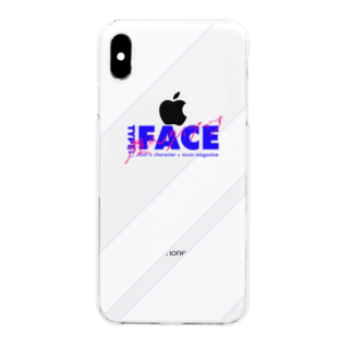 miente GOODe-SIGNのTYPE:)FACE -顔がタイプです- Clear smartphone cases