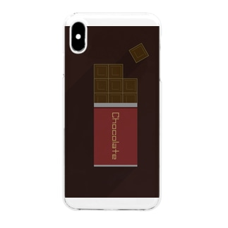 Chocolate Clear smartphone cases