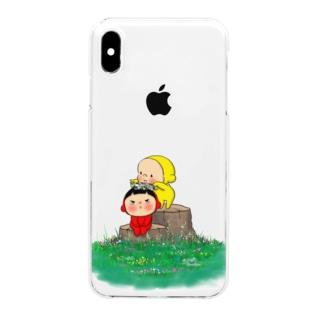 花冠B Clear smartphone cases
