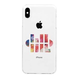🏕小川ハルの小川ハル ロゴB Clear smartphone cases