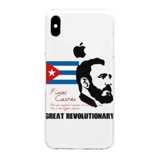 CASTRO カストロ Clear smartphone cases