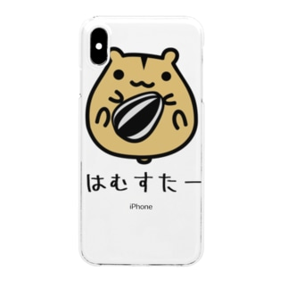 HAMSTER はむすたー Clear smartphone cases
