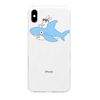 いなばのしろうさぎチャン Clear smartphone cases