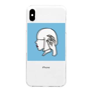 あの夏の子 Clear smartphone cases