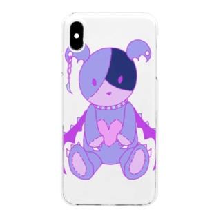 ベアラミ Clear smartphone cases