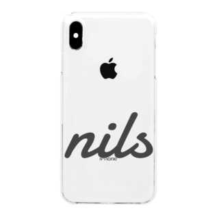 nils グッズ Clear smartphone cases