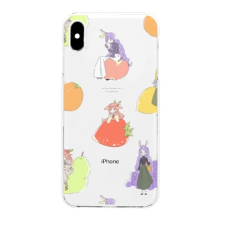 TEA-PARTY Clear smartphone cases