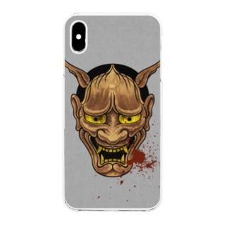 はんにゃぁ Clear smartphone cases