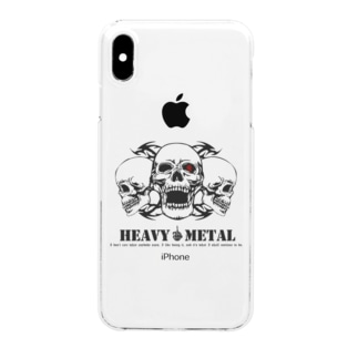 HEAVY METAL Clear smartphone cases