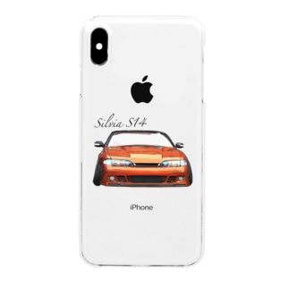 Silvia S14 前期 Clear smartphone cases