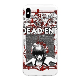 DEAD END Clear smartphone cases