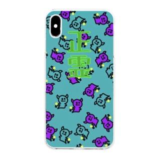 クリアスマートフォンケース 正霊 Clear smartphone cases