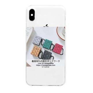 カラビナ付き Airpodsケース ゴヤール Goyard ワイヤレスイヤホンケース ファッション AirPods proカバー ブランド Clear smartphone cases
