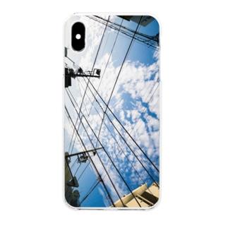 花浅葱 Clear smartphone cases