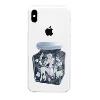 ハーバリウム White Clear smartphone cases