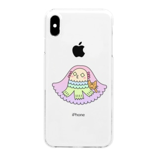 アマビエ様 Clear Smartphone Case