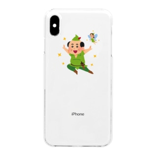 Peter pan Clear smartphone cases
