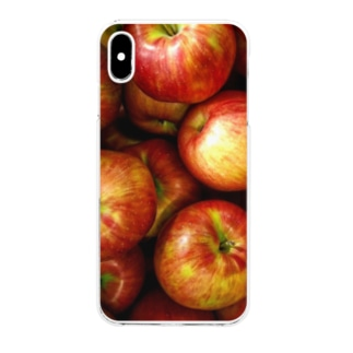 Apple紅 Clear smartphone cases