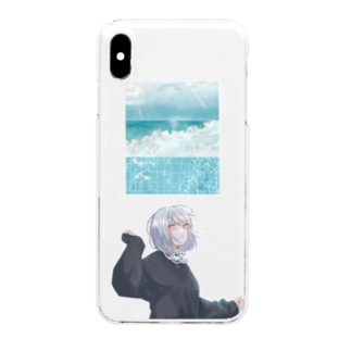 〜○。 Clear smartphone cases