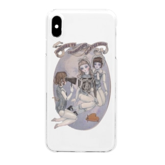 phonautograph doll Clear smartphone cases