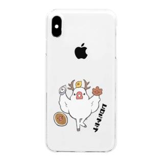 鹿ぶんちょう~ヒロシマラブ~ Clear smartphone cases