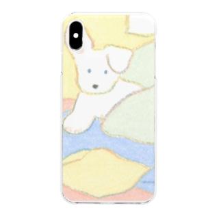 いぬ Clear smartphone cases