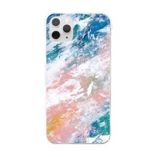 「海と小春」 / 002 Clear smartphone cases