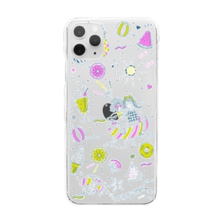 Happy Summer! Clear smartphone cases