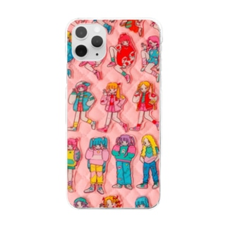 PLA BADGE GIRLDS Clear smartphone cases