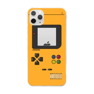 ChRiSUMA GAME ADDICTION Los Angels yellow  Clear smartphone cases