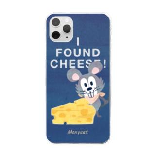 チーズはここに!*クリアケース Clear smartphone cases